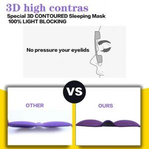 3D protective sleeping lash mask